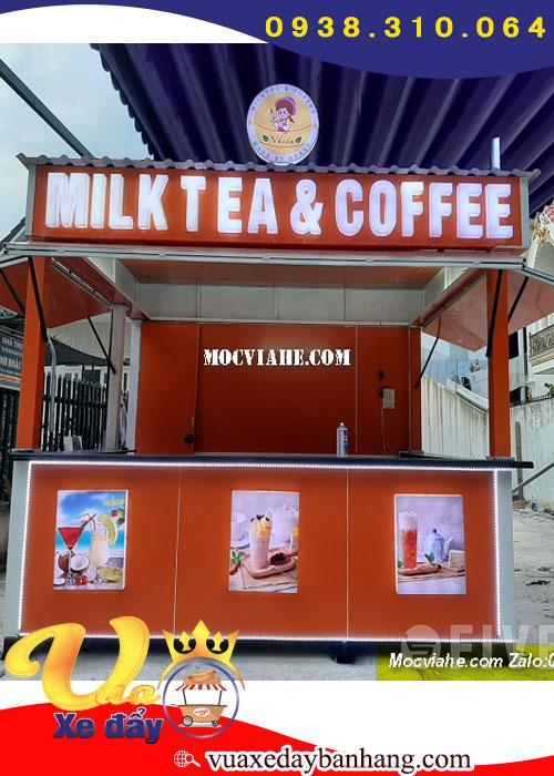 Quầy Trà Sữa Và Cà Phê