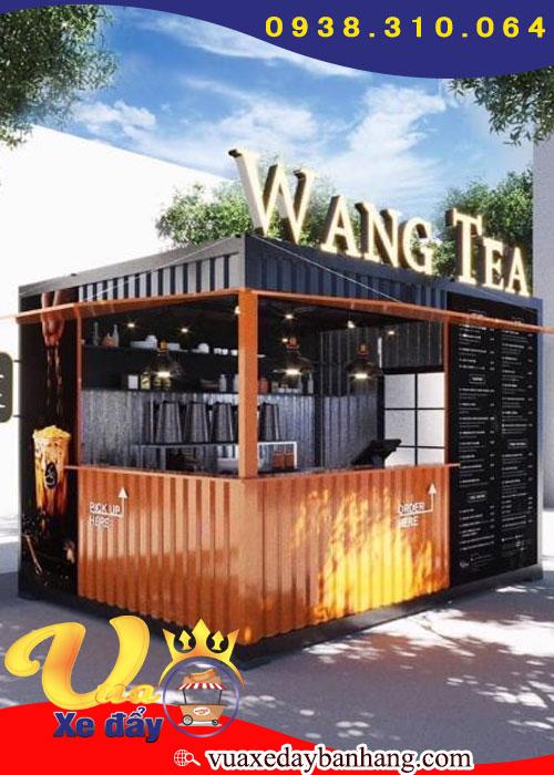 Quầy Trà Sữa Và Nước Ép Wang Tea 2m