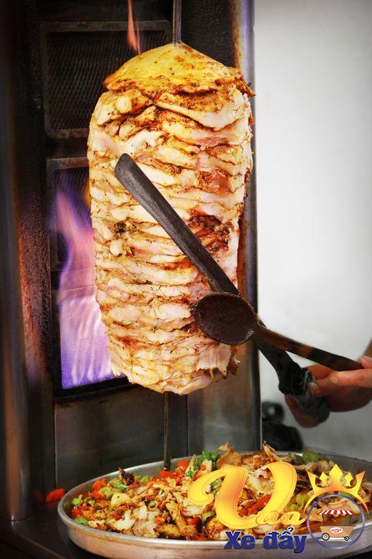 Cây thịt doner kebab